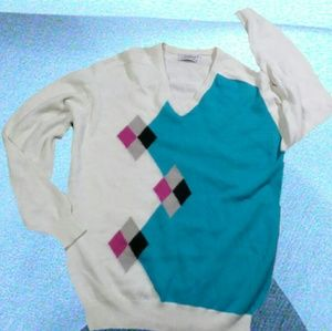 1980s vintage titleist wool sweatshirt (scotland)